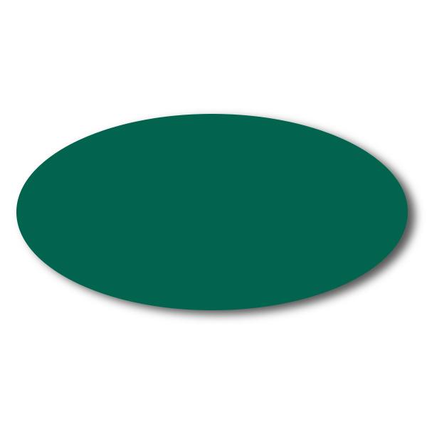 Green Chalkboard Reusable Oval Name Tag