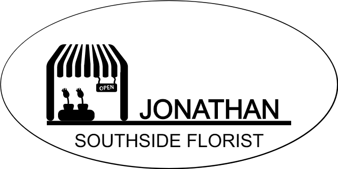 Flower Store Front Oval Florist Name Tag