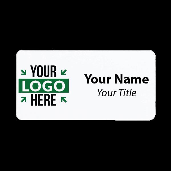 "Full Color Custom Name Tag - 1.5"" x 3"""