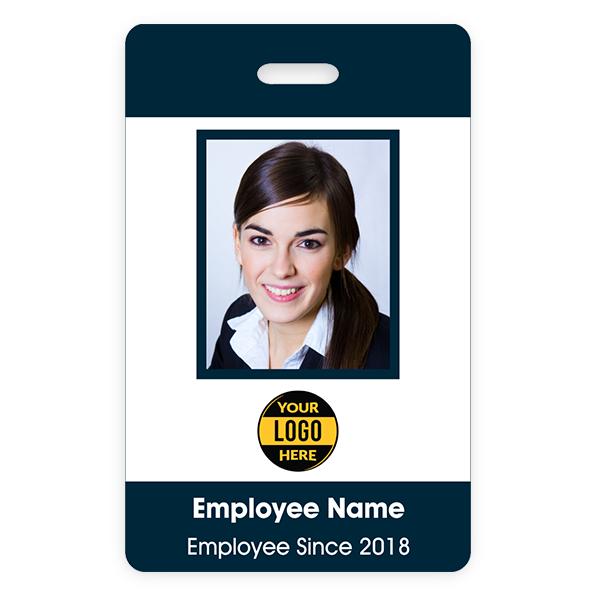 Basic Color ID Badge