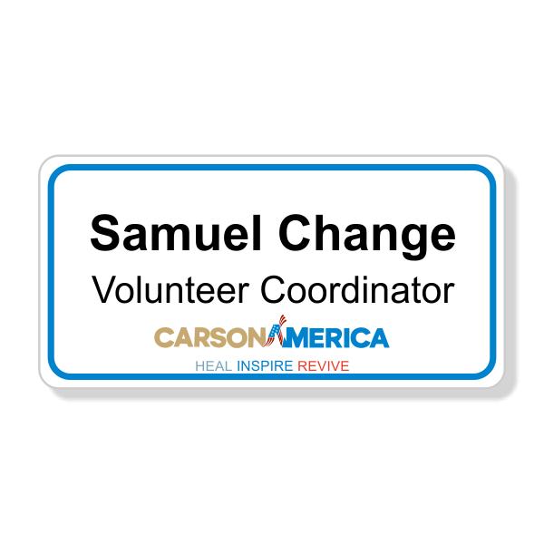 Ben Carson Presidential Name Tag
