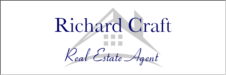 Centered Full Color Real Estate Name Tag