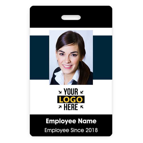 Color Bar ID Badge