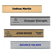 Color Wall Nameplate w/ Holder