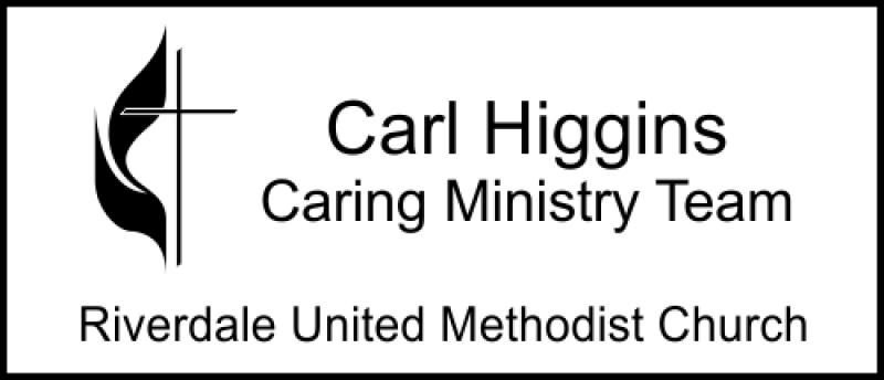 Medium United Methodist Church Logo Name Badge
