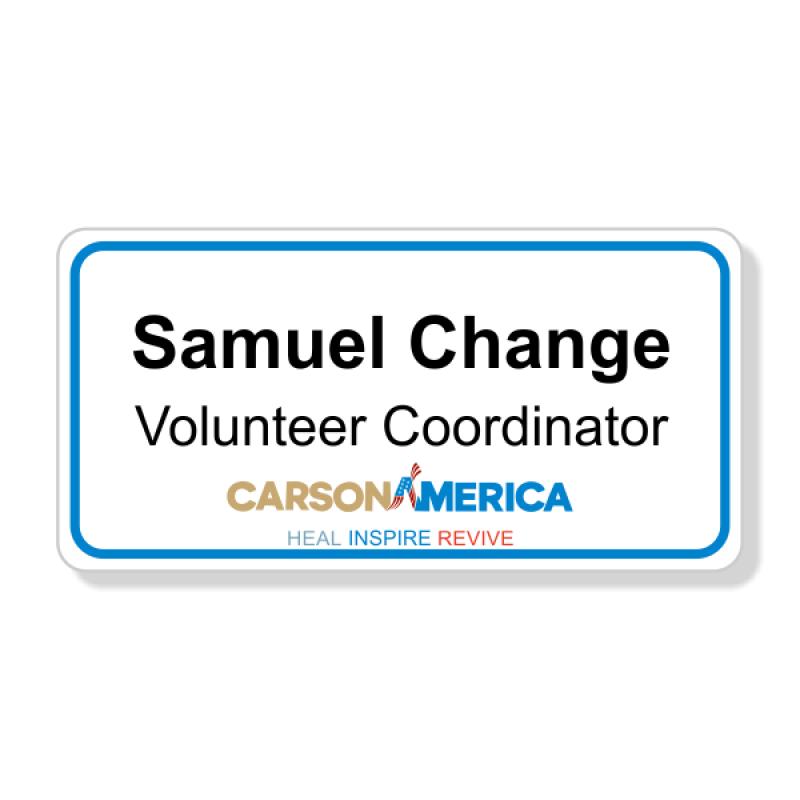 Ben Carson Presidential Name Badge