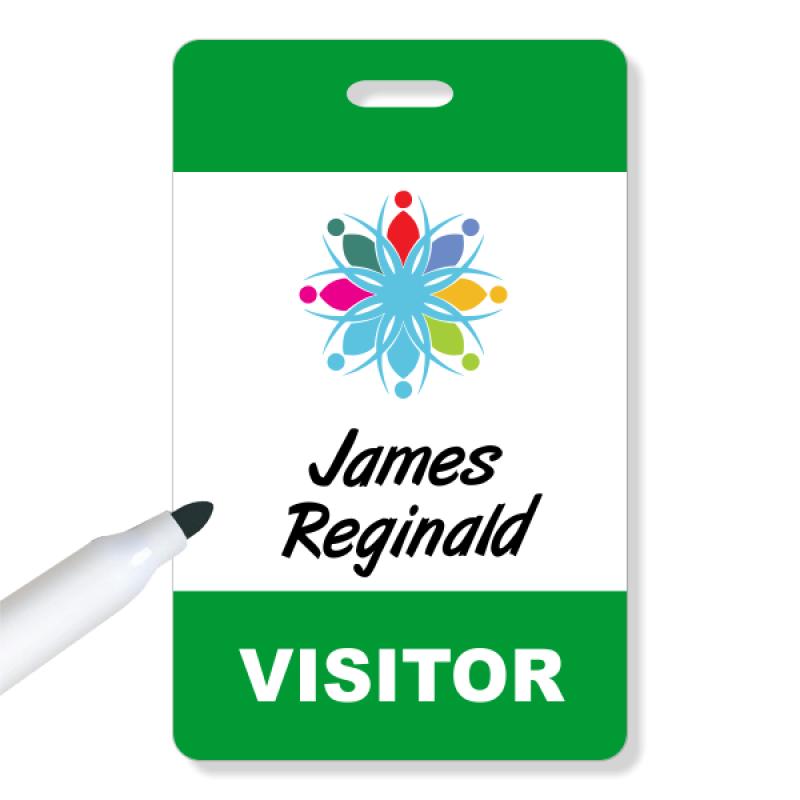 Business Logo Visitor Badge