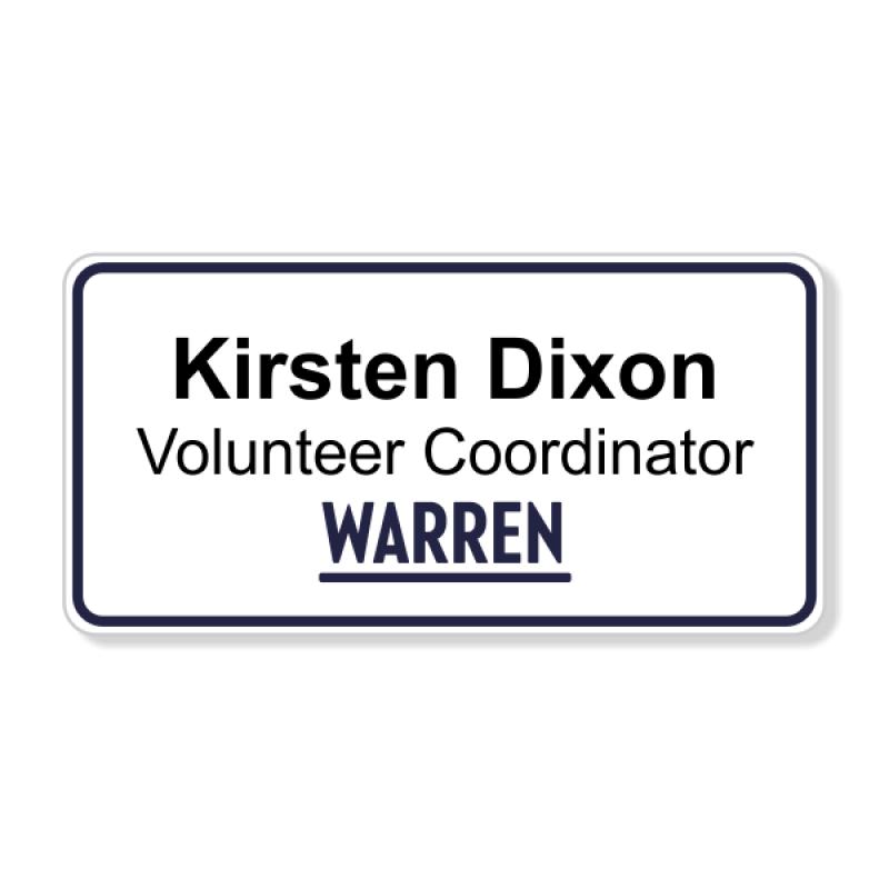 Bernie Sanders Presidential Name Badge
