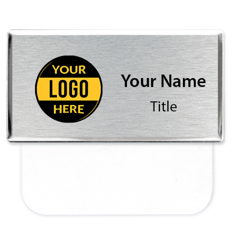 "Full Color Executive Pocket Badge - 1.5"" x 3"""
