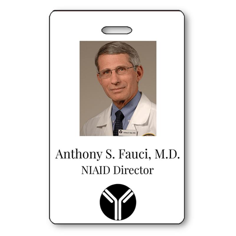 Dr. Fauci Halloween Photo ID