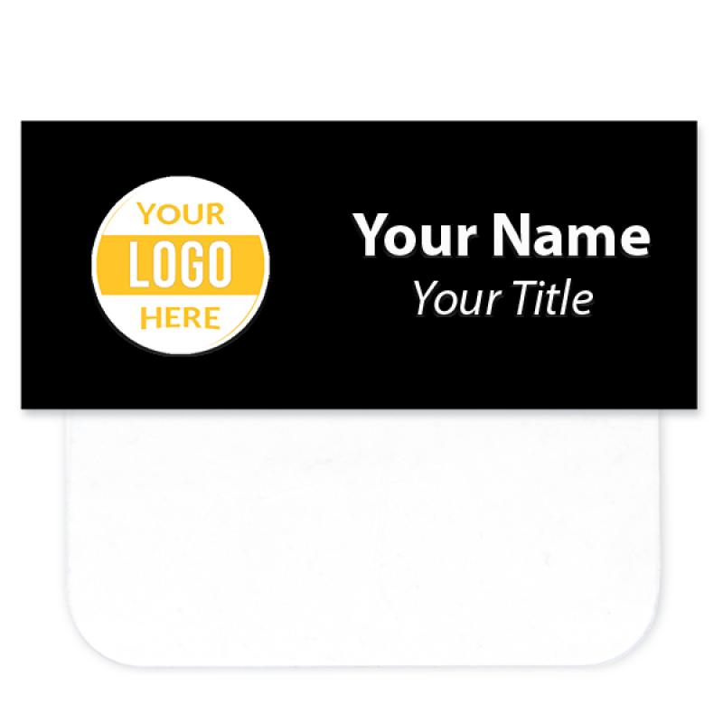 """Full Color Pocket Badge - 1.25"""" x 3"""""""