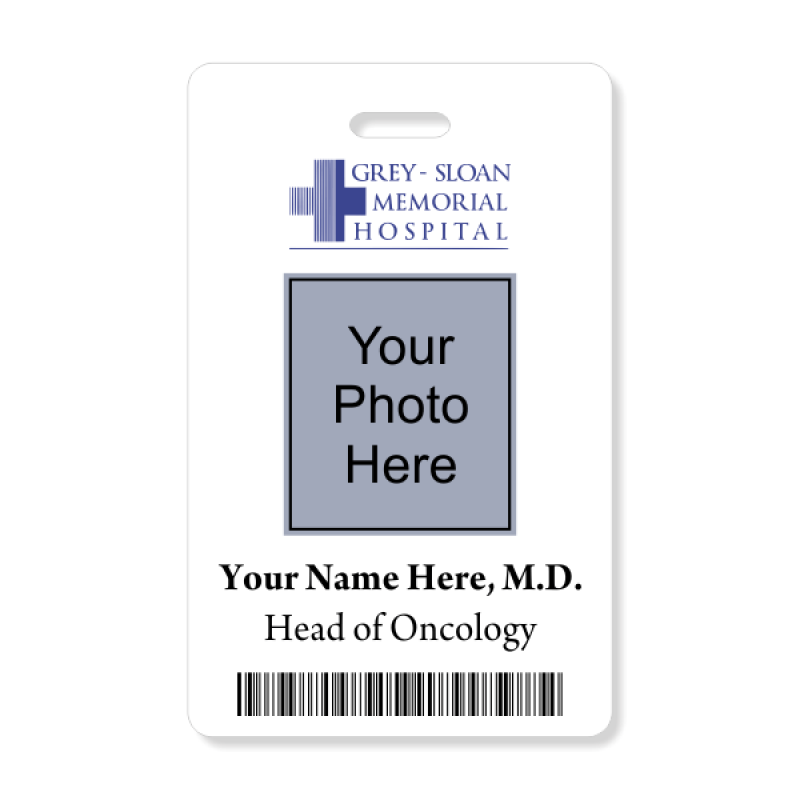 Grey & Sloan Memorial Hospital Photo ID