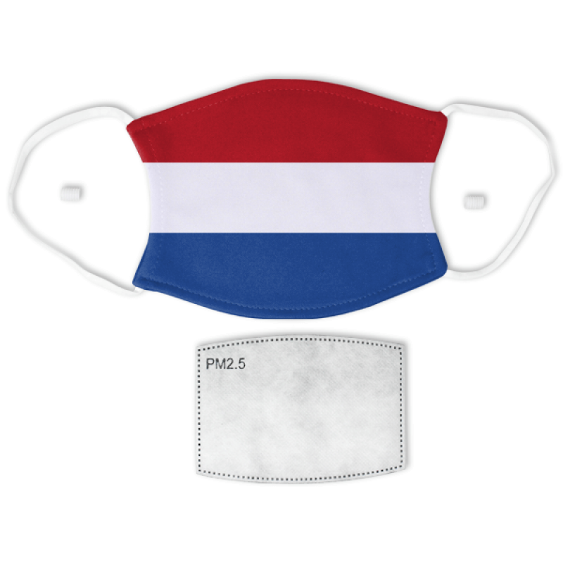 Flag of the Netherlands Adult Size Face Mask