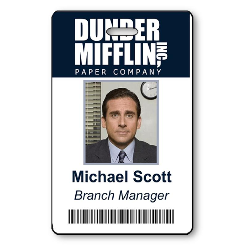 Michael Scott Halloween Photo ID