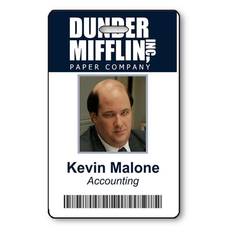 Kevin Malone Halloween Photo ID