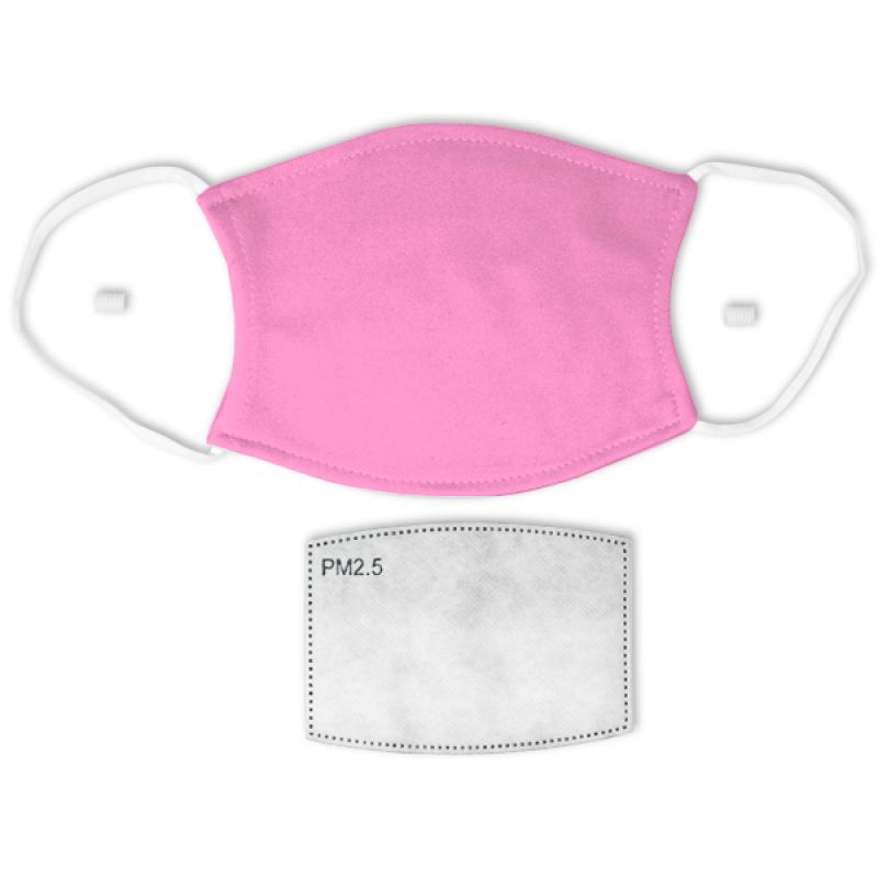 Bubblegum Pink Adult Face Mask