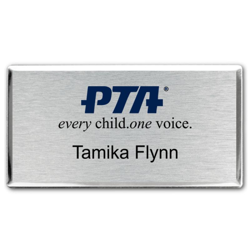 PTA Premier Color Name Badge