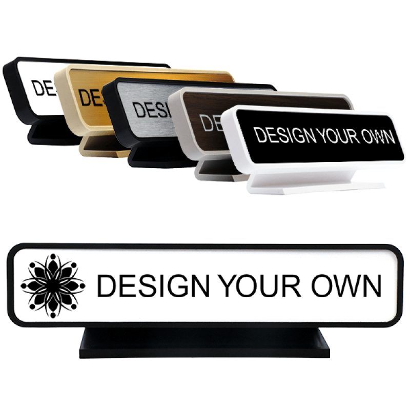 2x10 inch Engraved Desk Sign