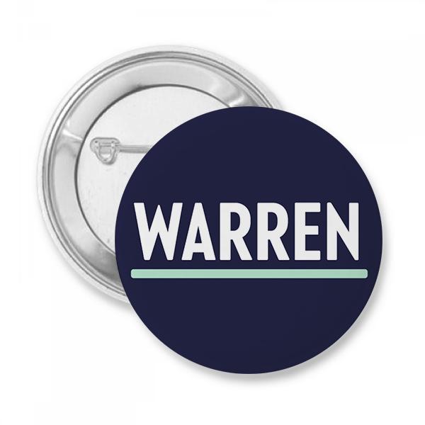 Elizabeth Warren Presidential Campaign Button