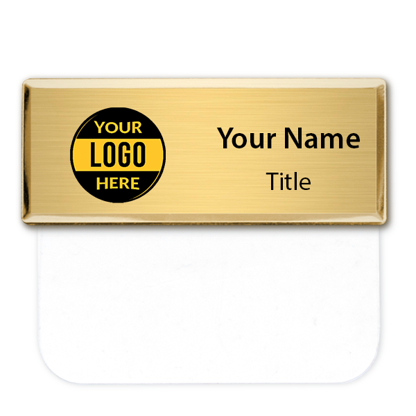 "Full Color Executive Pocket Badge - 1"" x 3"""