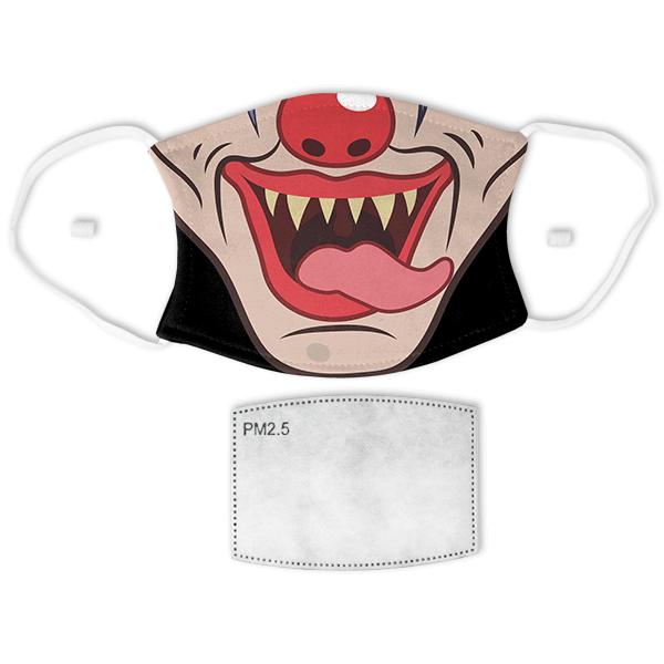 Adult Evil Clown Halloween Face Mask