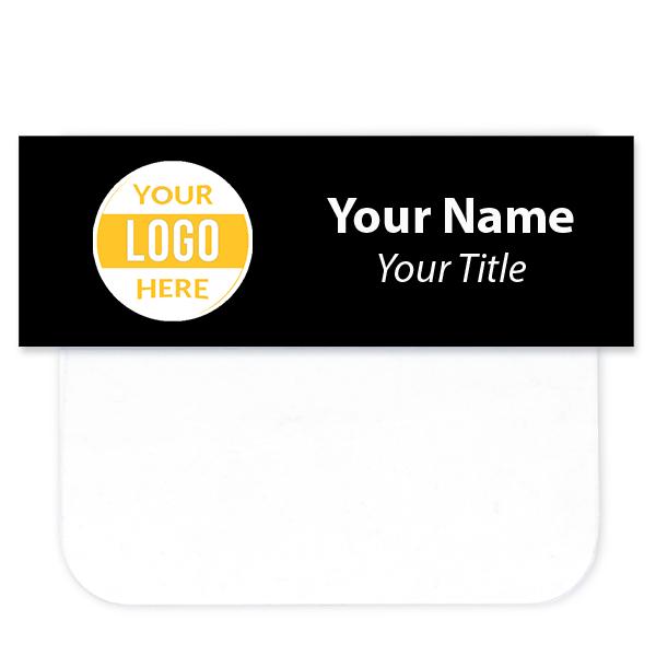 """Full Color Pocket Badge - 1"""" x 3"""""""