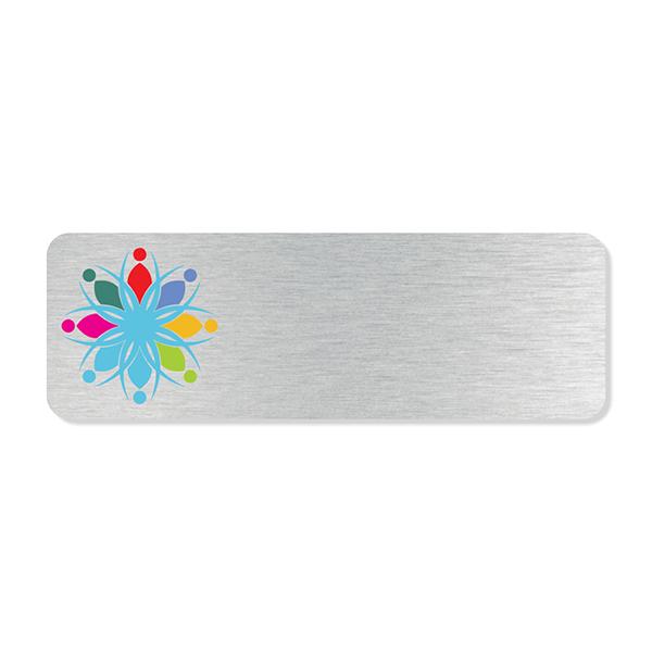Full Color Logo Economy Name Tag