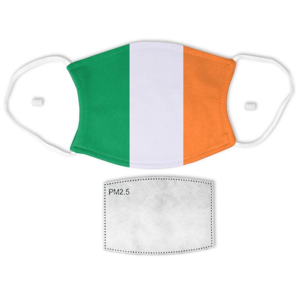 Flag of Ireland Adult Size Face Mask