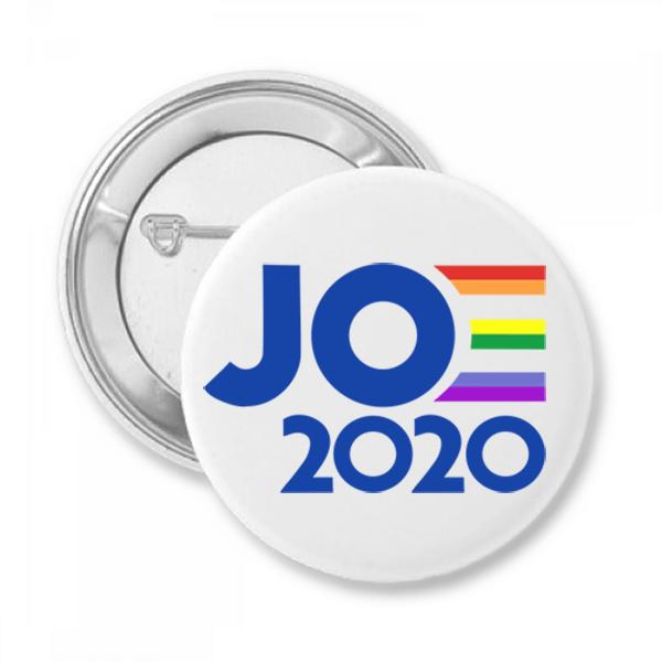 Joe 2020 Pride Button