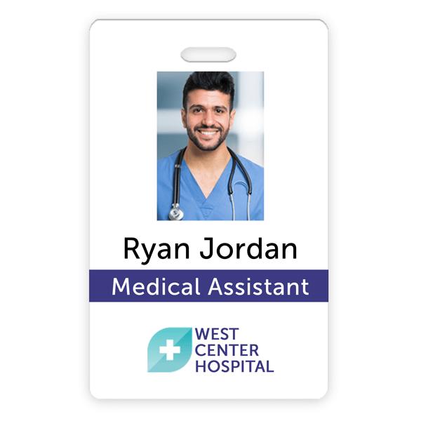 Medical Professional Photo ID Card