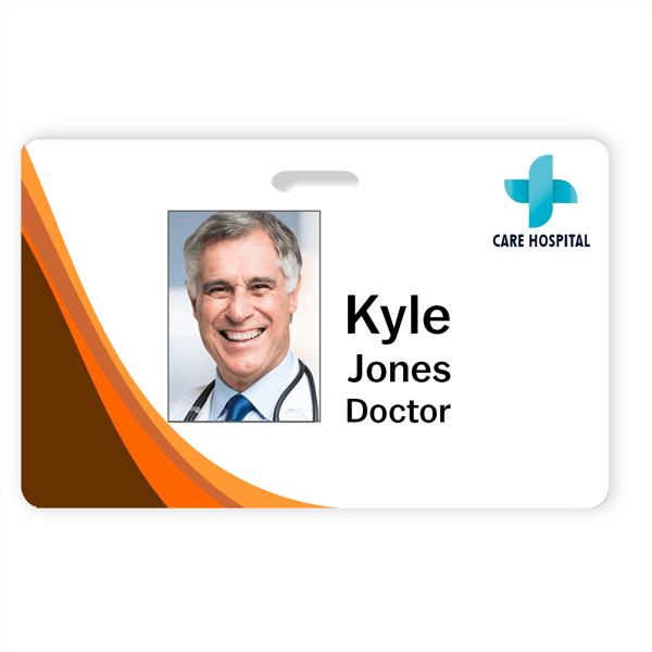 Medical Professional Photo ID Badge
