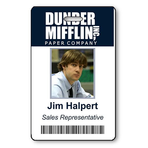 Jim Halpert Halloween Photo ID