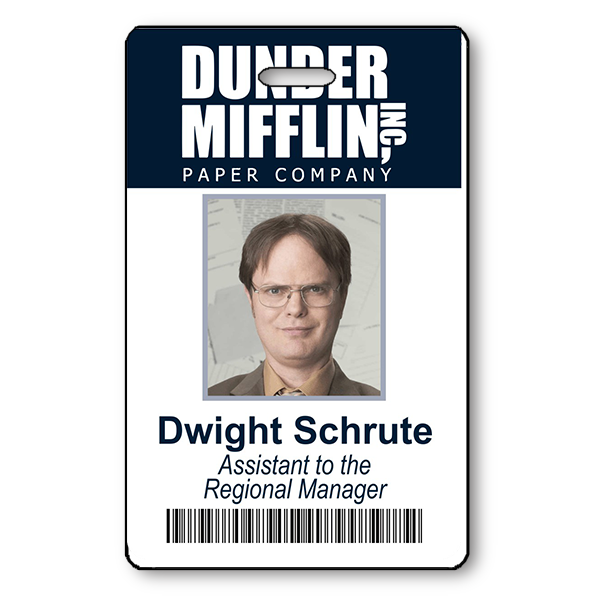 Dwight Schrute Halloween Photo ID