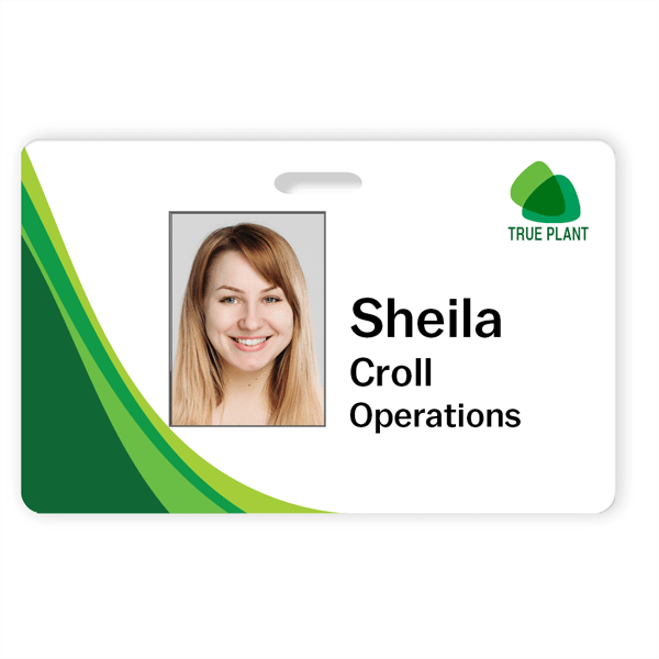 Personalized Photo ID Card
