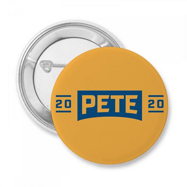 Pete Buttigieg Presidential Campaign Button
