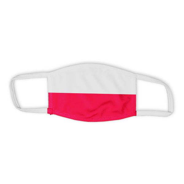 Flag of Poland Child Size Face Mask