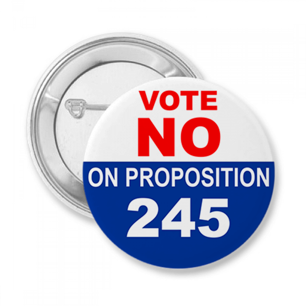 Proposition Opposition Vote Button