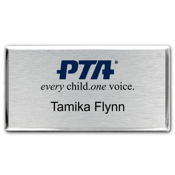 PTA Fancy Full Color Name Tag