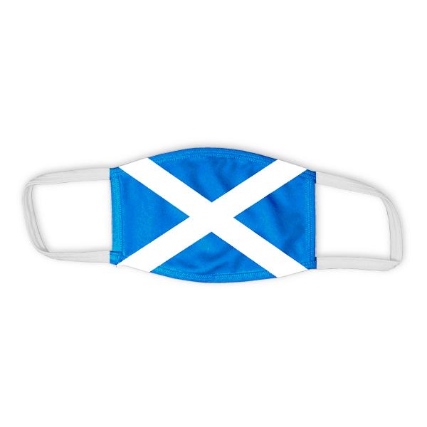 Flag of Scotland Child Size Face Mask