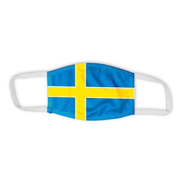Flag of Sweden Child Size Face Mask