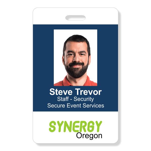 Three Line Conference Photo ID Badge