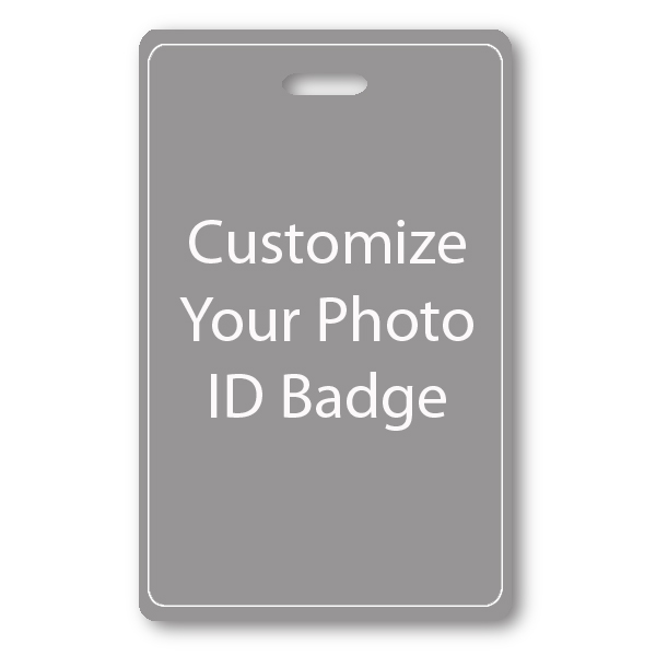 Vertical ID Card